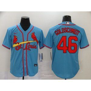St. Louis Cardinals Paul Goldschmidt Blue Jersey
